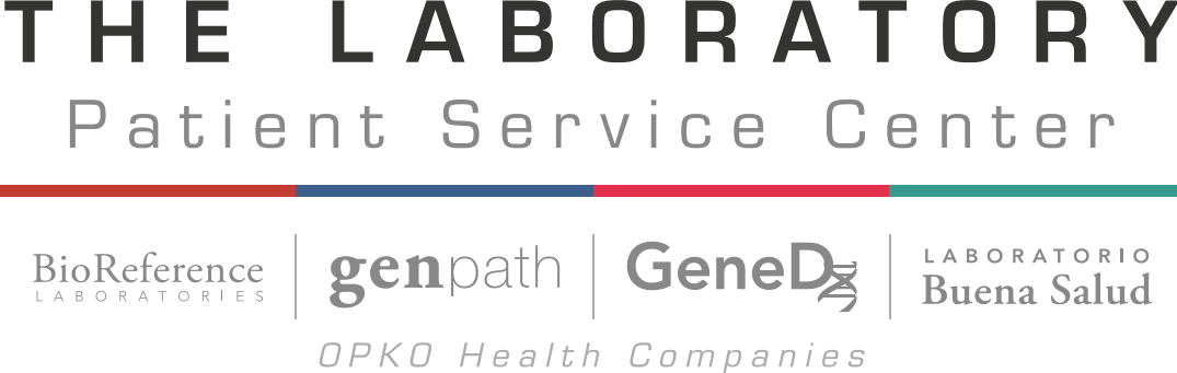The Laboratory Patient Service Center Logo